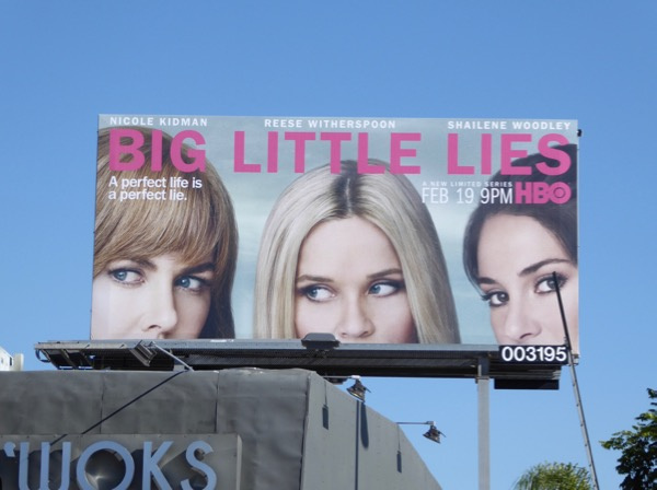 Big Little Lies TV billboard