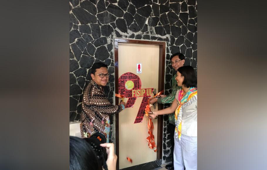 Alumni Fisip UI Angkatan 97 Bantu Renovasi Fasilitas Kampus UI