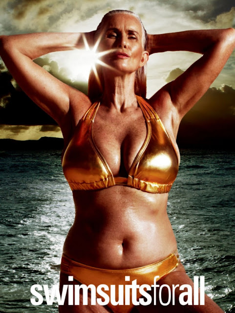 First time of Sports Illustrated cover, a plus-size model appeared