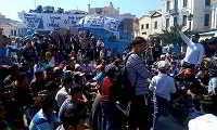 Ο δήμαρχος Λέσβου ζήτησε από τους Αφγανούς να εγκαταλείψουν τον καταυλισμό διαμαρτυρίας (εικόνες)