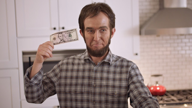 Abe Lincoln Features in Super Bowl Spots for Pizza Hut & GSD&M