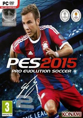 Pro Evolution Soccer 2015 Fully Full Version PC Game