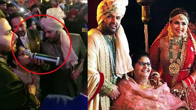 कपिल शर्मा ने भीड़ में भी समझ ली मां की प्यास, हाथों से पिलाया पानी
