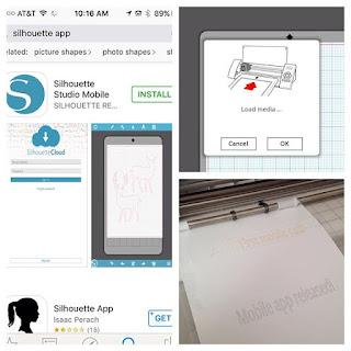 Silhouette Studio, Silhouette Studio mobile