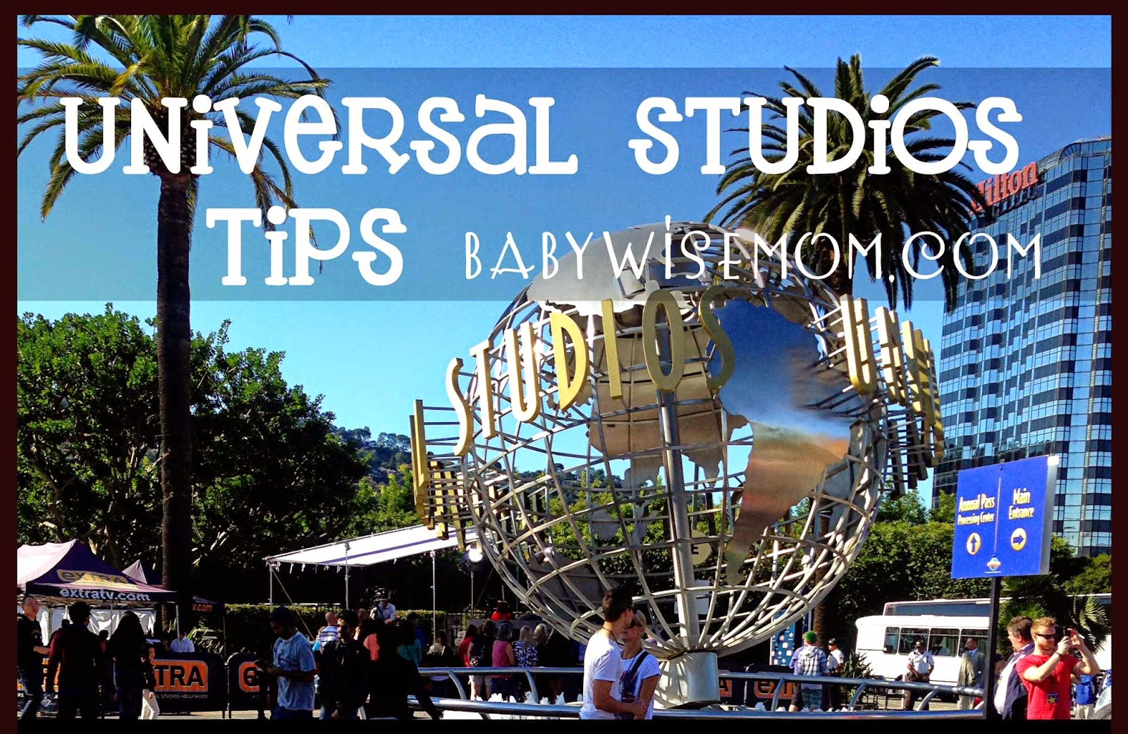 Universal Studios tips