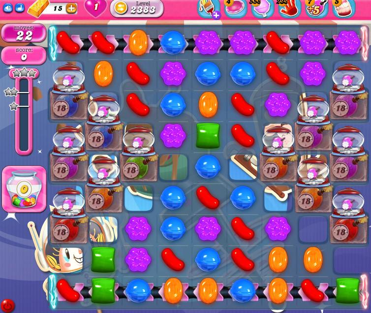 Candy Crush Saga level 2383