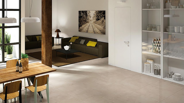 Tiles for floor design Studio collection - High quality porcelain stoneware surfaces