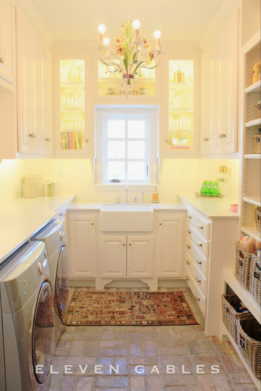Eleven Gables: Eleven Gables Laundry | Butler's Pantry ...