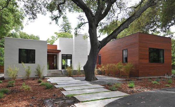 dengan pemandangan yang baik niscaya terlihat mengundang Merancang Jalan Setapak Taman Modern Rumah Minimalis