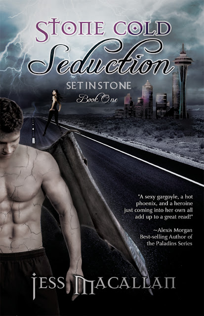 Review - Stone Cold Seduction by Jess Macallan - 4 Qwills
