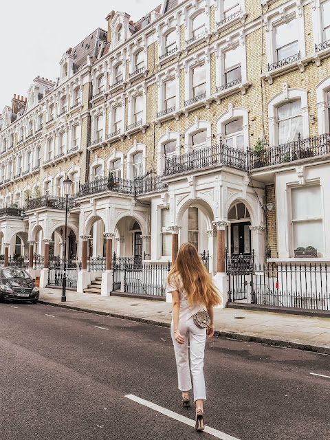 London Kensington Luxury Fashion Blogger
