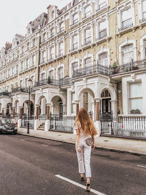 London Kensington Luxury Fashion Blogger