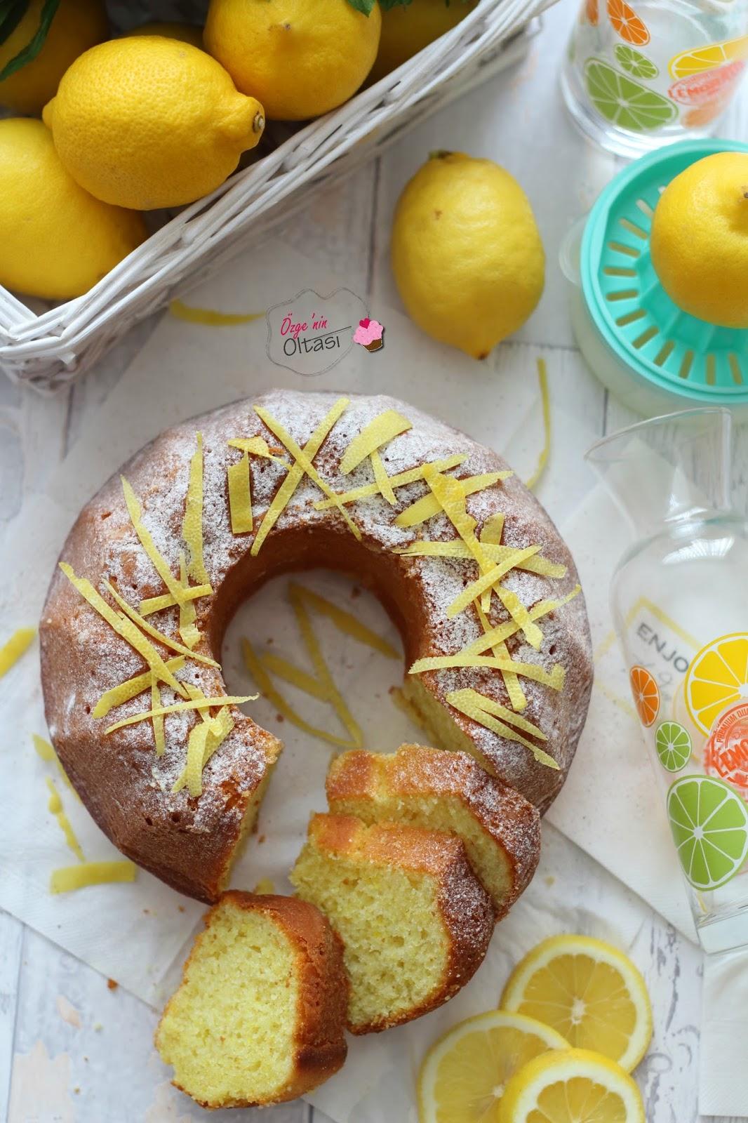 Limonlu Akışkan Kek Tarifi