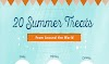 20 summer treats around the world #infographic