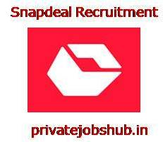Snapdeal Recruitment