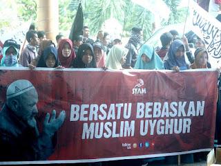 Sejumlah Organisasi Islam NTB Minta China Hentikan Kekerasan Atas Muslim Uyghur
