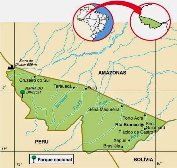 Acre | Geografia e História do Acre
