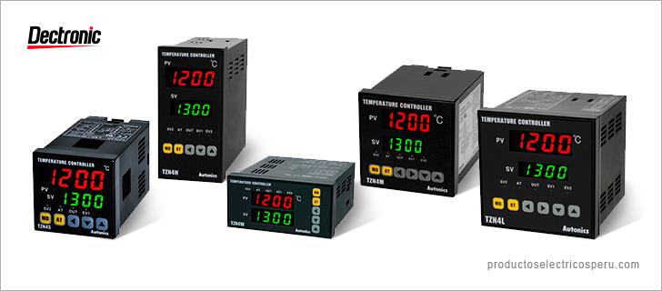 Control de temperatura Serie TZN - Autonics
