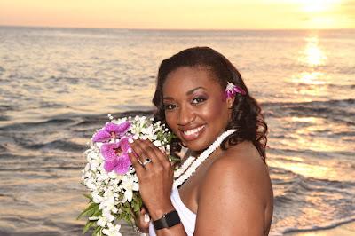 Bride in Ko Olina