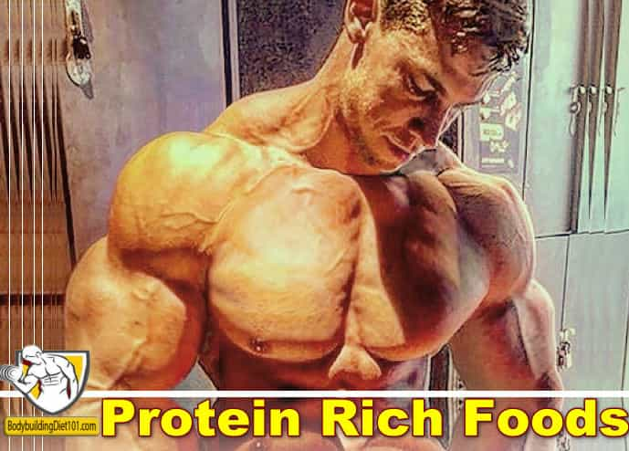 so that makes it necessary for you to get them by eating protein rich foods