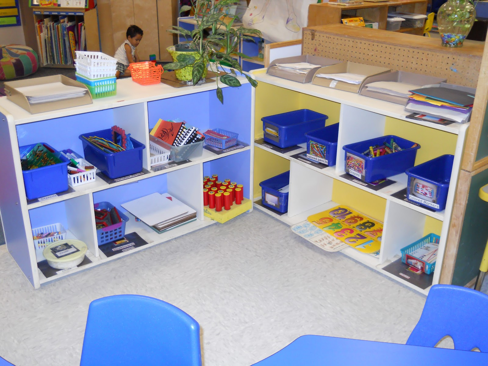 Learning And Teaching With Preschoolers Writing Center