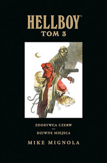 Hellboy tom 3 okładka
