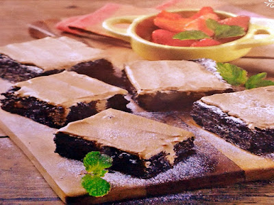 Gambar Resep Kue Cokelat Kopi