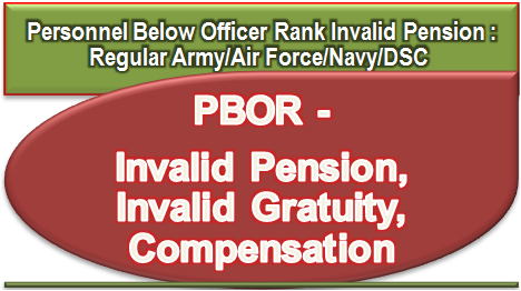 personnel-below-officer-rank-pbor-invalid-pension-gratuity-compensation