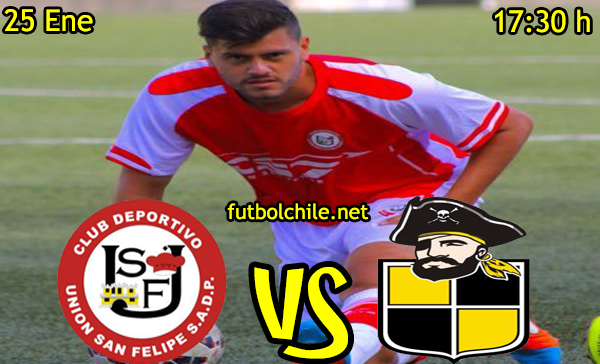 VER STREAM EN VIVO, ONLINE: San Felipe vs Coquimbo - Primera B - 17:30 h - 25/01/2016