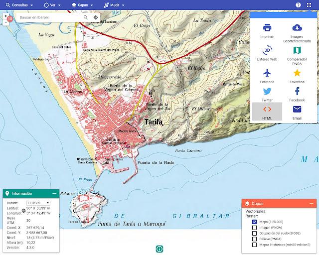 Iberpix - Test sur Tarifa
