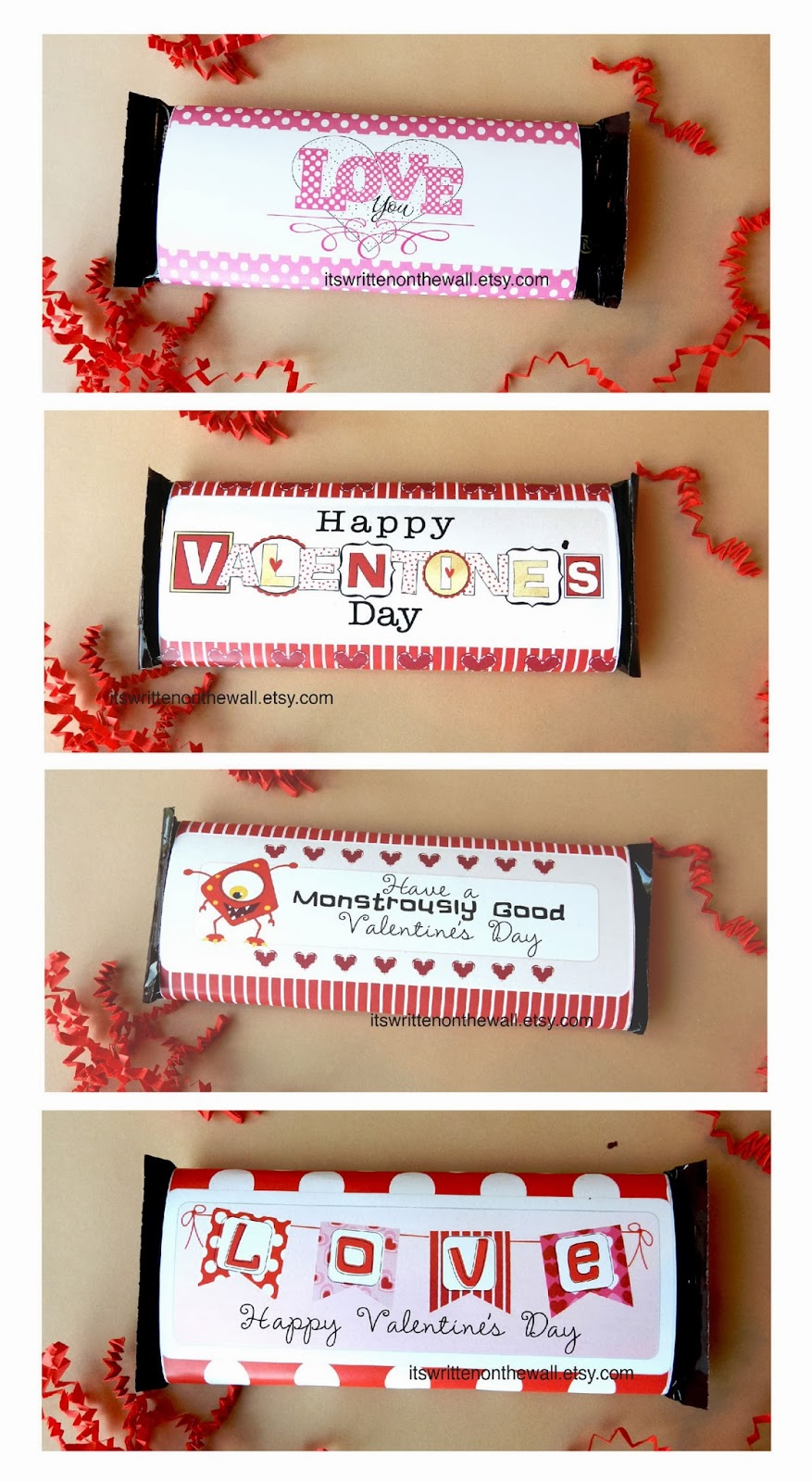 It's Written On The Wall: 12 Valentine's Day Candy Bar