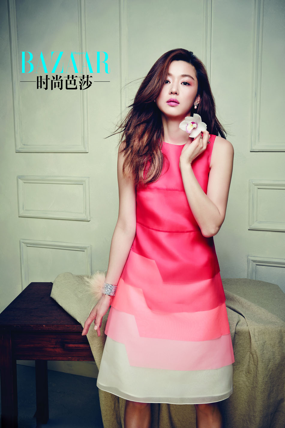 Jeon Ji Hyun Harper's Bazaar China May 2014