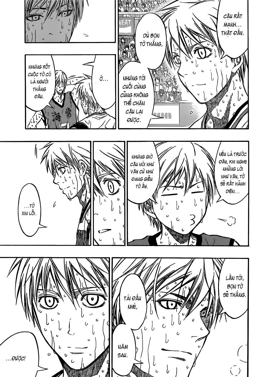Kuroko No Basket chap 203 trang 6