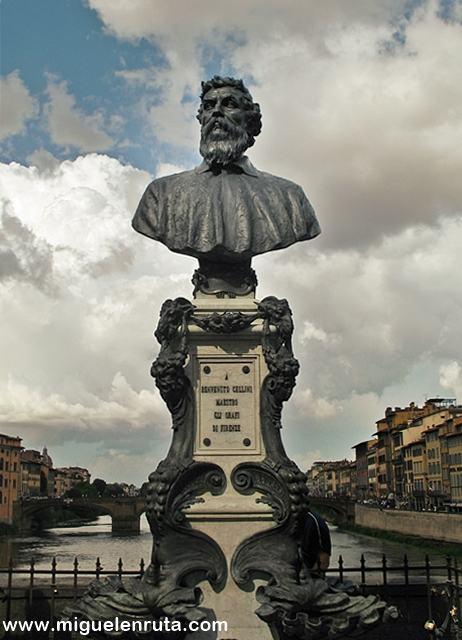 Benvenuto-Cellini-Ponte-Vecchio