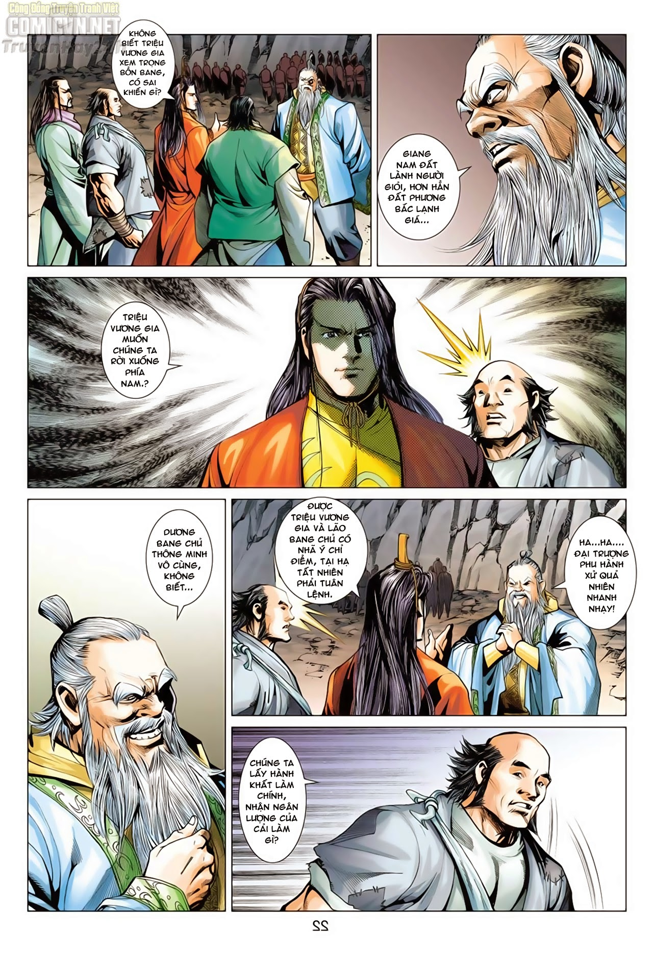 Anh Hùng Xạ Điêu anh hùng xạ đêu chap 66: nhạc châu đại hội trang 22