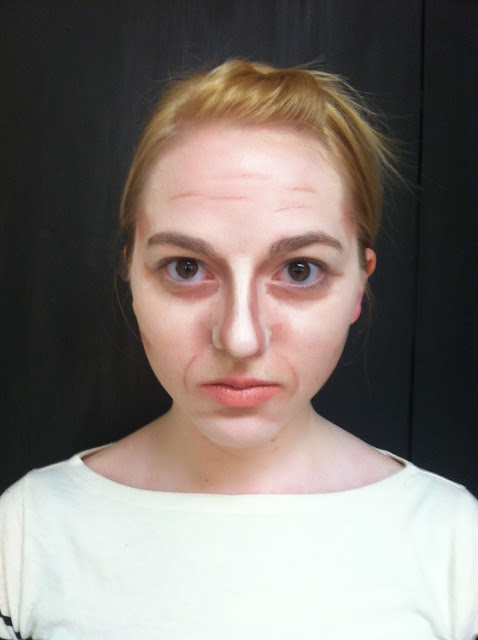 Stage Makeup Morgue: Age Makeup (Late 50s-Early 60s)