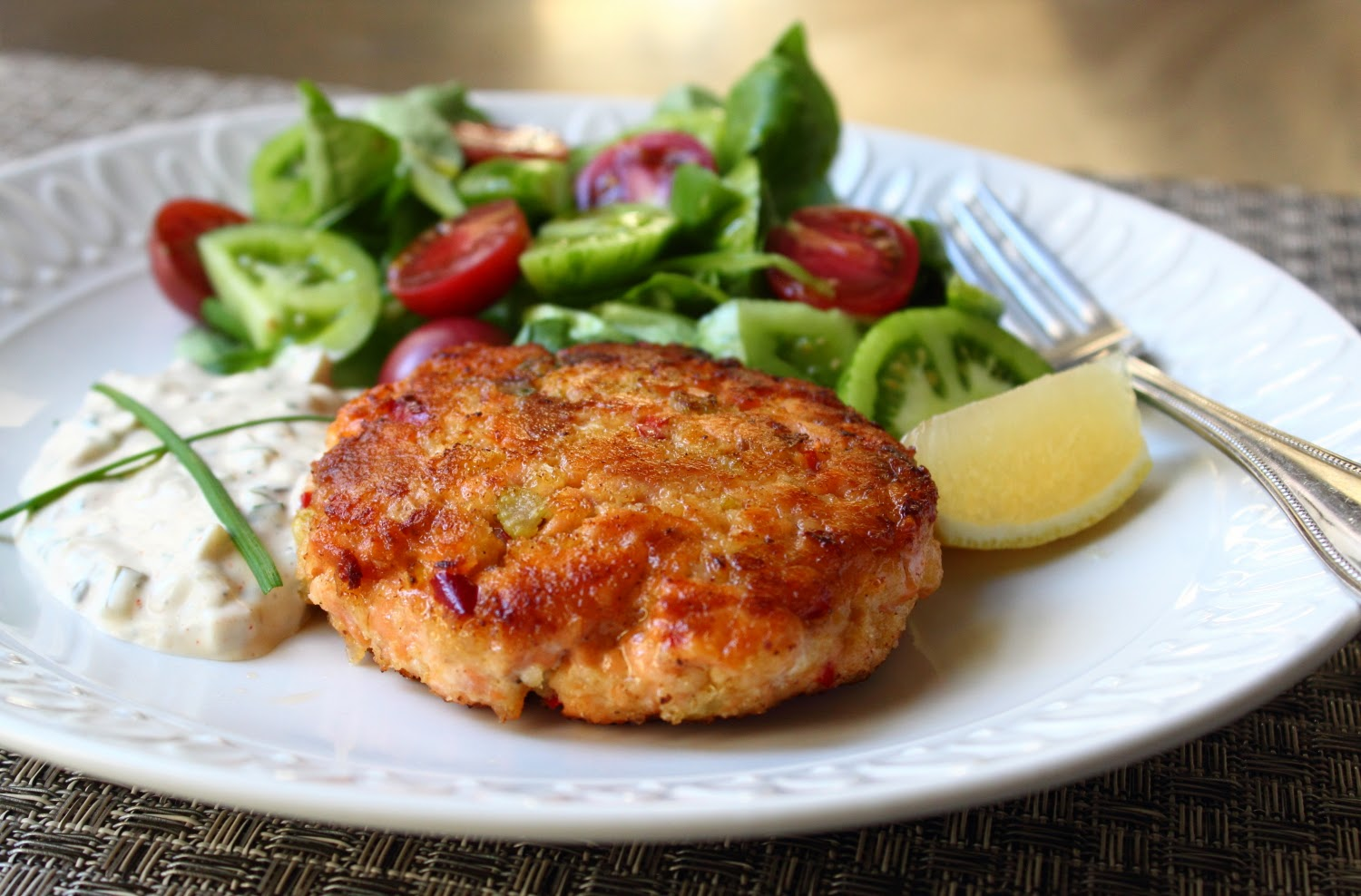 Fresh Salmon Cakes Recipe Panko