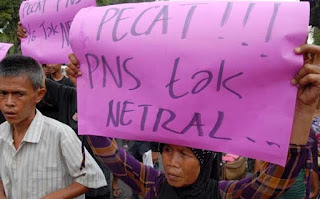 Pecat PNS Tak Netral