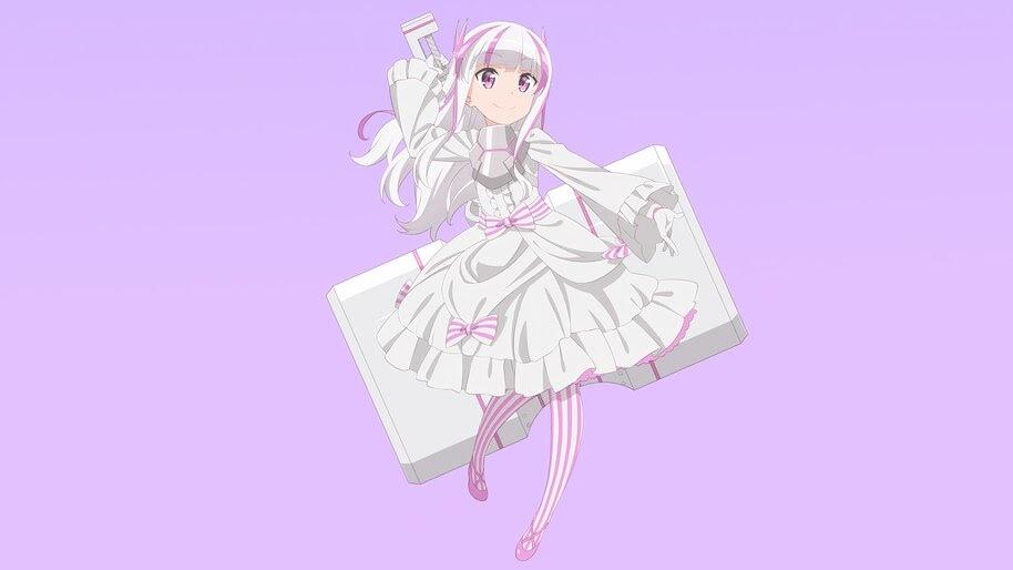 Yui, Bofuri, Anime, 4K, #7.959