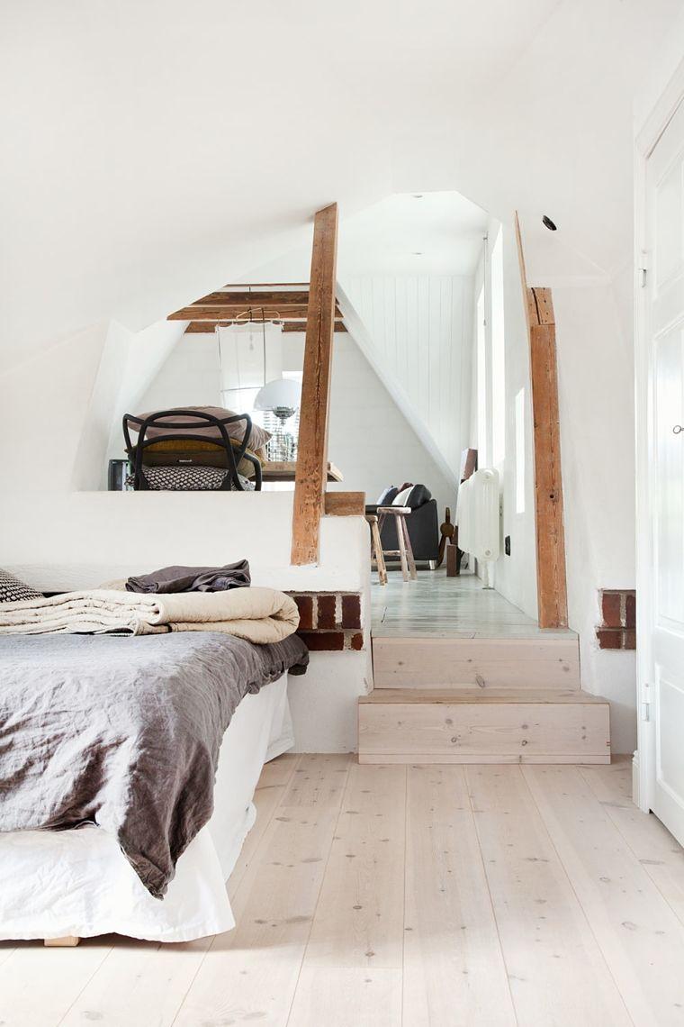 Dormitorio de estilo normitorio