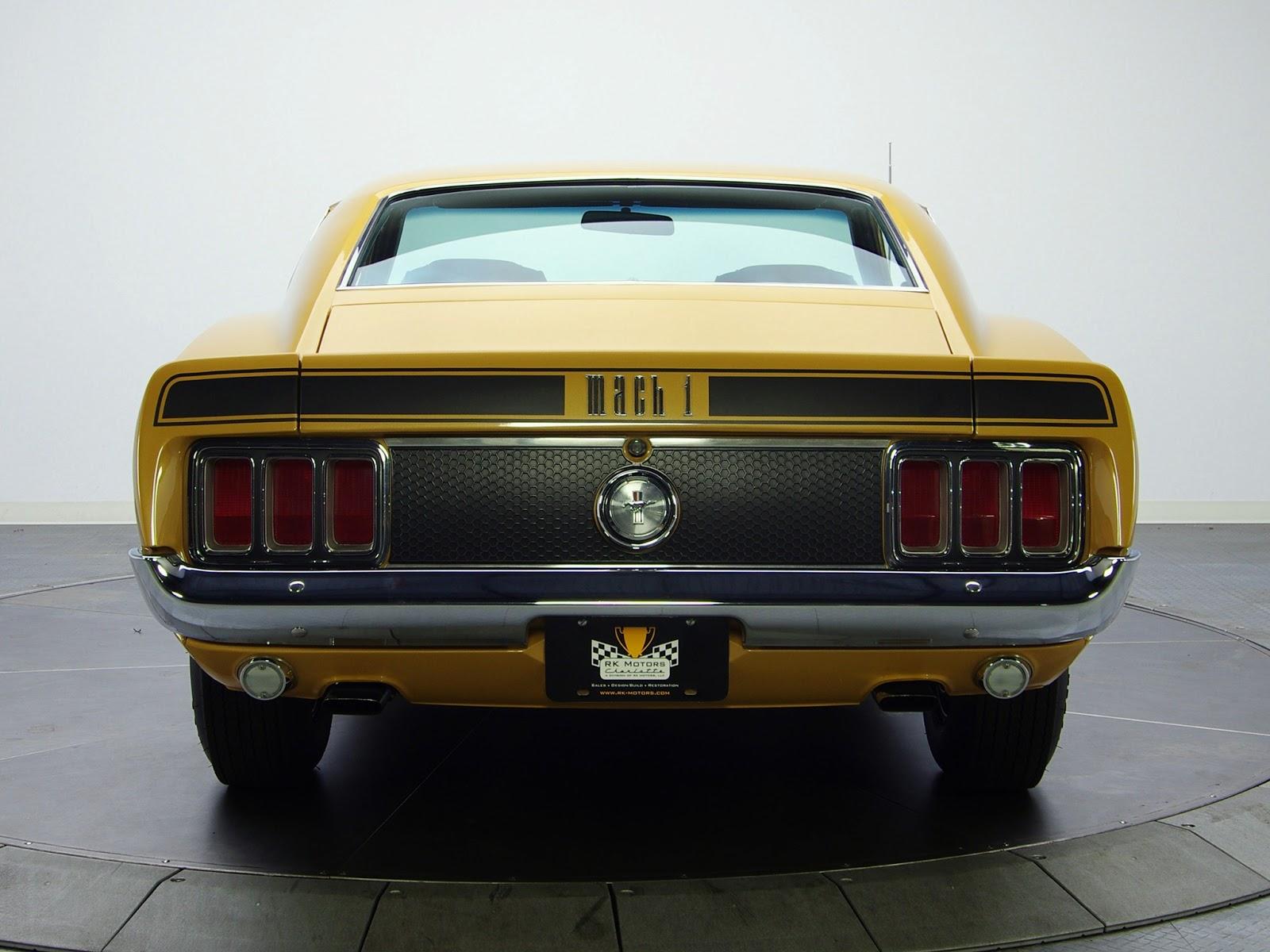 FAB WHEELS DIGEST (F.W.D.): Ford Mustang Mach 1 - 1st Gen ...