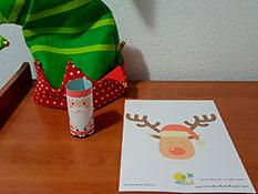 Papá Noel y Rudolph