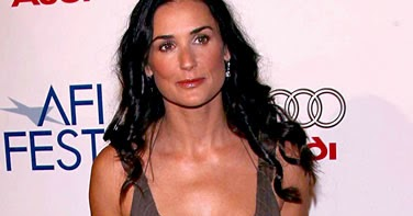 Demi Moore Nose Job and Breast Implants Plastic Surgery Before and After - Celebrity Before and ...