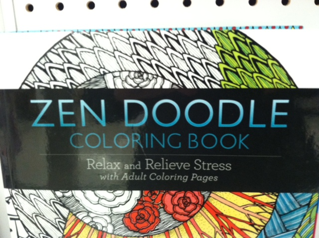 My Adult Coloring Book Was A Christmas Present From Husband Along With Set Of Washable Markers CraZArt SuperTip