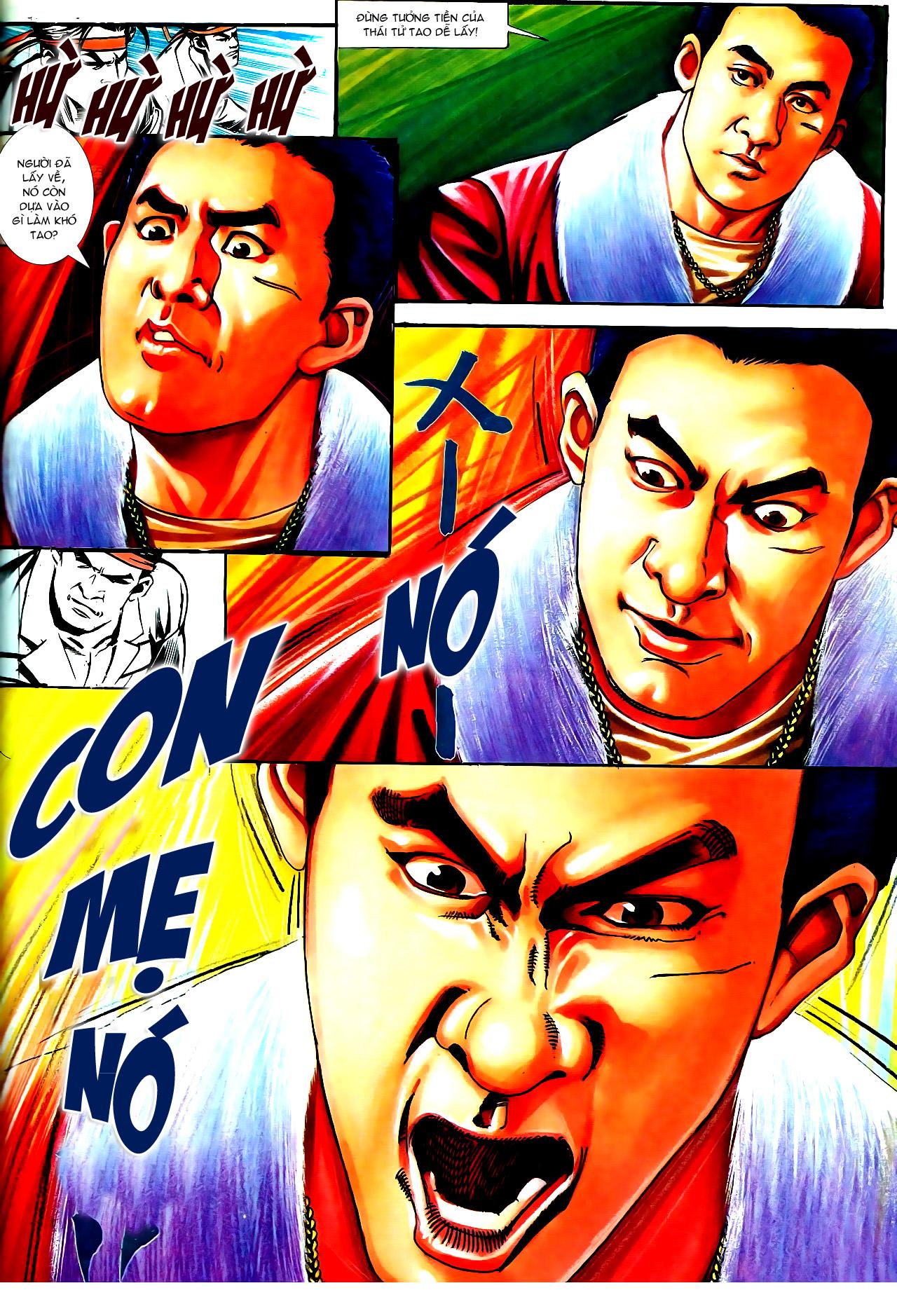 Người Trong Giang Hồ chapter 154: nam đẹp trai trang 15