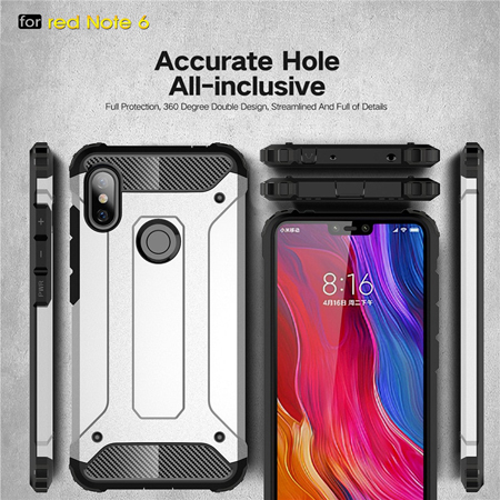 Armor Case Xiaomi Redmi Note 6 Pro Shockproof