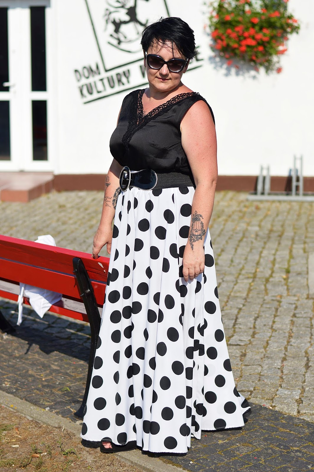 Black and white polka dots, Black and white style, Black and white world
