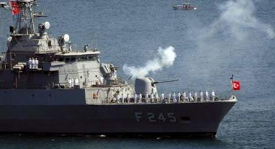 سفينة دورية تركية