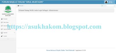 Download Source Code Aplikasi Majelis Taklim Sirulmubtadi Berbasis Web