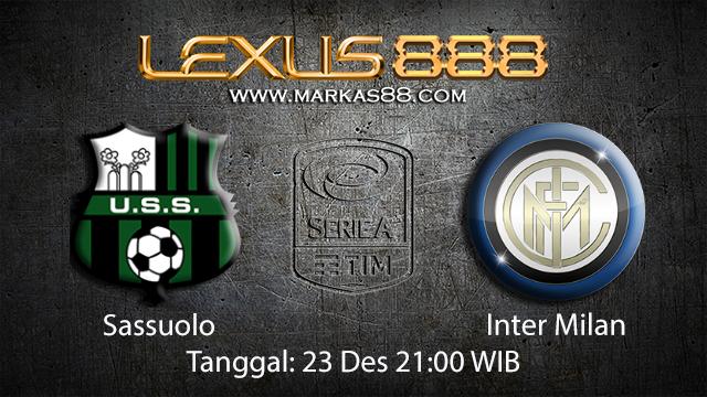 PREDIKSIBOLA - PREDIKSI TARUHAN BOLA SASSUOLO VS INTER MILAN 23 Desember 2017 (SERIE A)